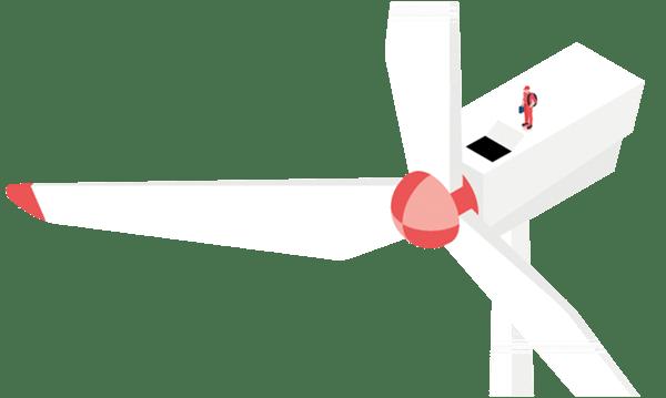 Windturbine vorausschauende Wartung