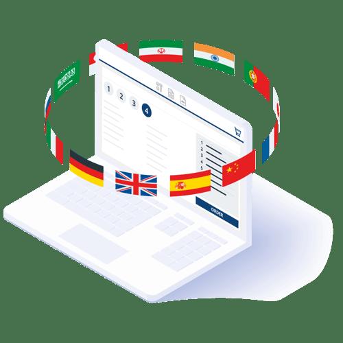 Mehrsprachiger Katalog