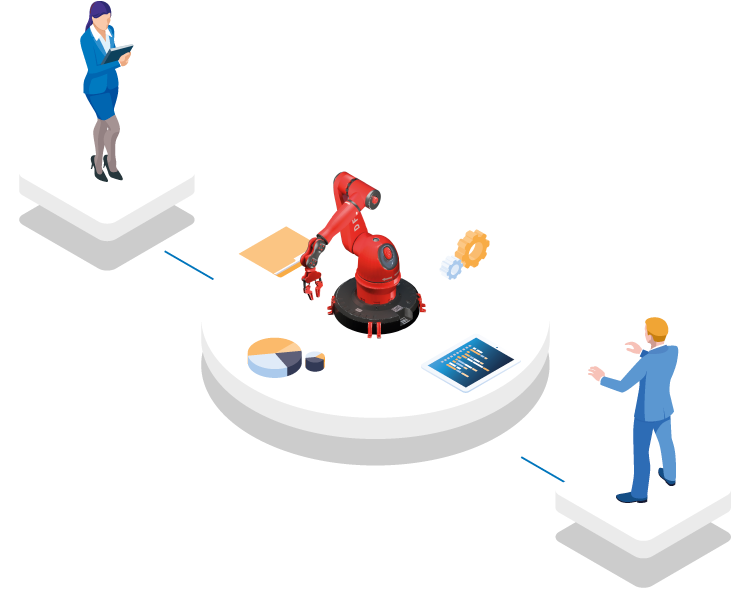 Data exchange between manufacturers and operators of machines and equipment