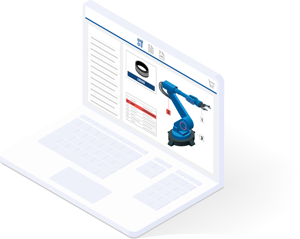 Service information system for plant operators and manufacturing companies