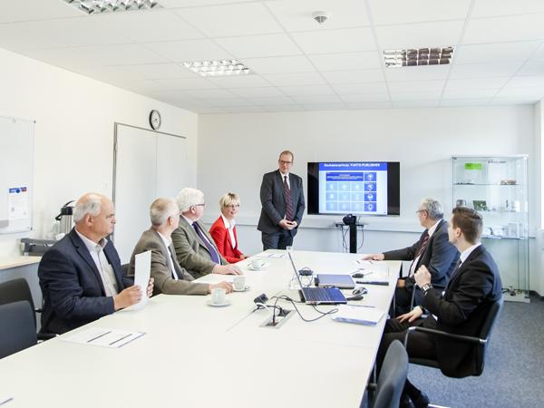 IT-Consultant im Meeting